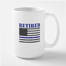 Thin Blue Line Retired Mugs