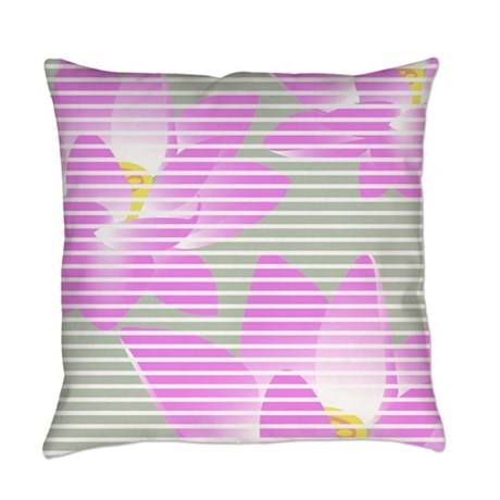 Lotus design Everyday Pillow