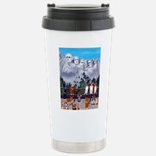 Cute Rushmore Travel Mug
