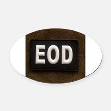 Cool Tactical Oval Car Magnet