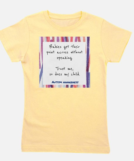 Cool Sensory processing disorder Girl's Tee