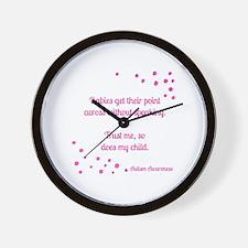 Unique Autism not processing Wall Clock