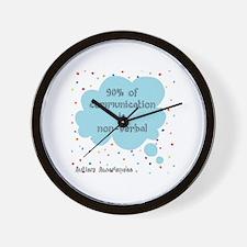 Cute Autism not processing Wall Clock