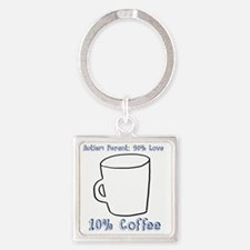 Cute Special needs Square Keychain
