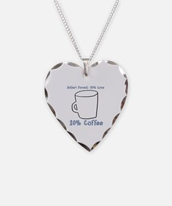 Funny Asd Necklace Heart Charm