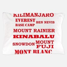Multi Mountains 2 Pillow Case