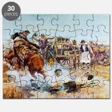 Cool Oklahoma state cowboys mens Puzzle