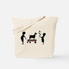 Totes MaGoats Nubian Goat Tote Bag