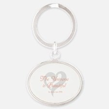 Unique Womens Oval Keychain