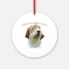 PBGV Mom2 Ornament (Round)