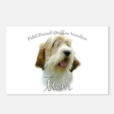 PBGV Mom2 Postcards (Package of 8)