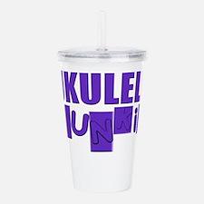 Cool Ukulele Acrylic Double-wall Tumbler