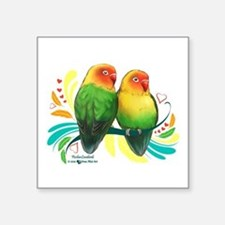 Fischer Lovebirds Sticker
