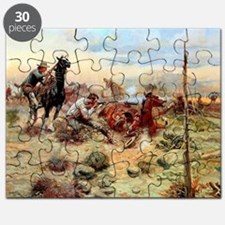 Oklahoma state cowboys mens Puzzle