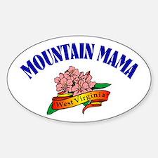 Mountain Mama Oval Bumper Stickers