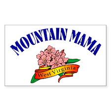 Mountain Mama Rectangle Bumper Stickers