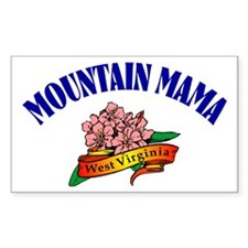 Mountain Mama Rectangle Decal