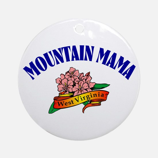 Mountain Mama Ornament (Round)