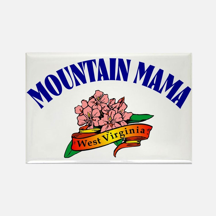 Mountain Mama Rectangle Magnet