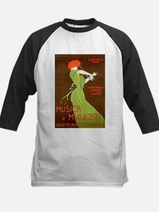 Vintage poster - Musica e Musicist Baseball Jersey