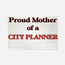 Proud Mother of a City Planner Magnets