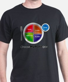 Unique Food pyramid T-Shirt