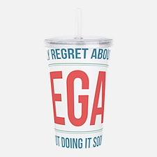 Vegan Regrets Acrylic Double-wall Tumbler