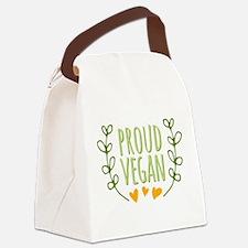 Proud Vegan Canvas Lunch Bag
