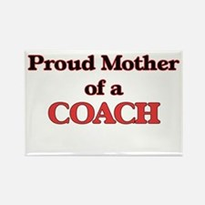 Proud Mother of a Coach Magnets