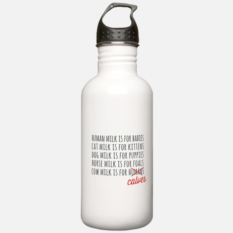 Human Milk is for Babies Water Bottle