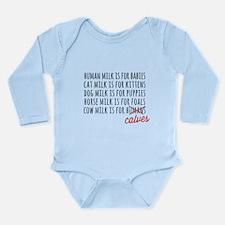 Human Milk is for Babies Body Suit