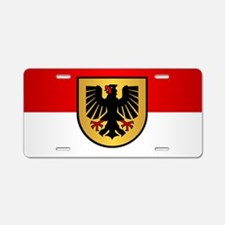 Dortmund Aluminum License Plate