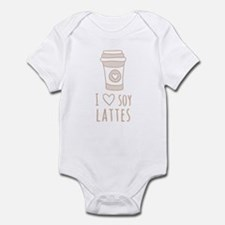 Tan I Heart Soy Lattes Body Suit