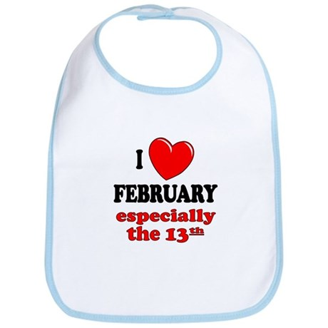 February 13th Bib