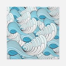 Ocean Waves Queen Duvet