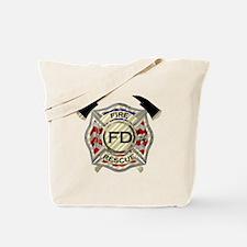 Unique Firefighter Tote Bag