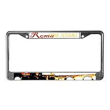 Roma Aeterna License Plate Frame