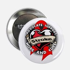 "Stroke Advocate Support 2.25"" Button"