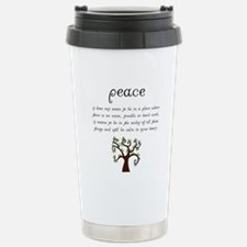 Cute Spirituality Travel Mug