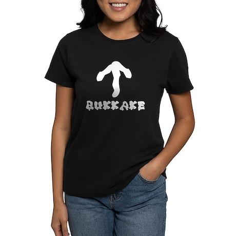 Bukkake -> Women's Dark T-Shirt