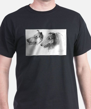 Funny Smooth collies T-Shirt