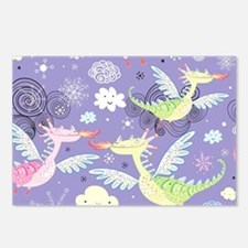 Cute Dragons Postcards (Package of 8)