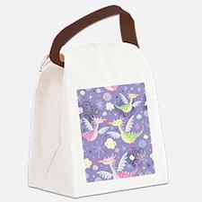 Cute Dragons Canvas Lunch Bag