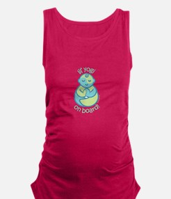 Cool Buddha baby Maternity Tank Top
