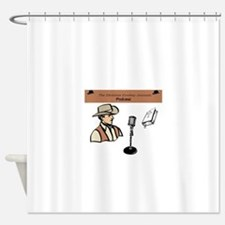 CCJ Podcast Shower Curtain