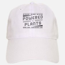 No Violence Powered by Plants Baseball Baseball Baseball Cap
