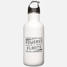 No Violence Powered by Plants Water Bottle