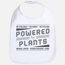 No Violence Powered by Plants Bib