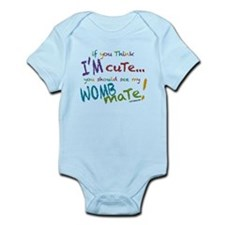 Unique Twin baby Onesie