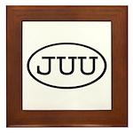 JUU Oval Framed Tile